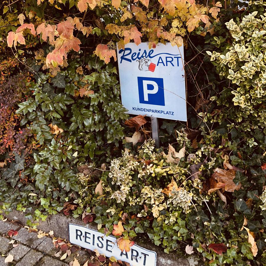 Reisebüro Bielefeld Parkplatz